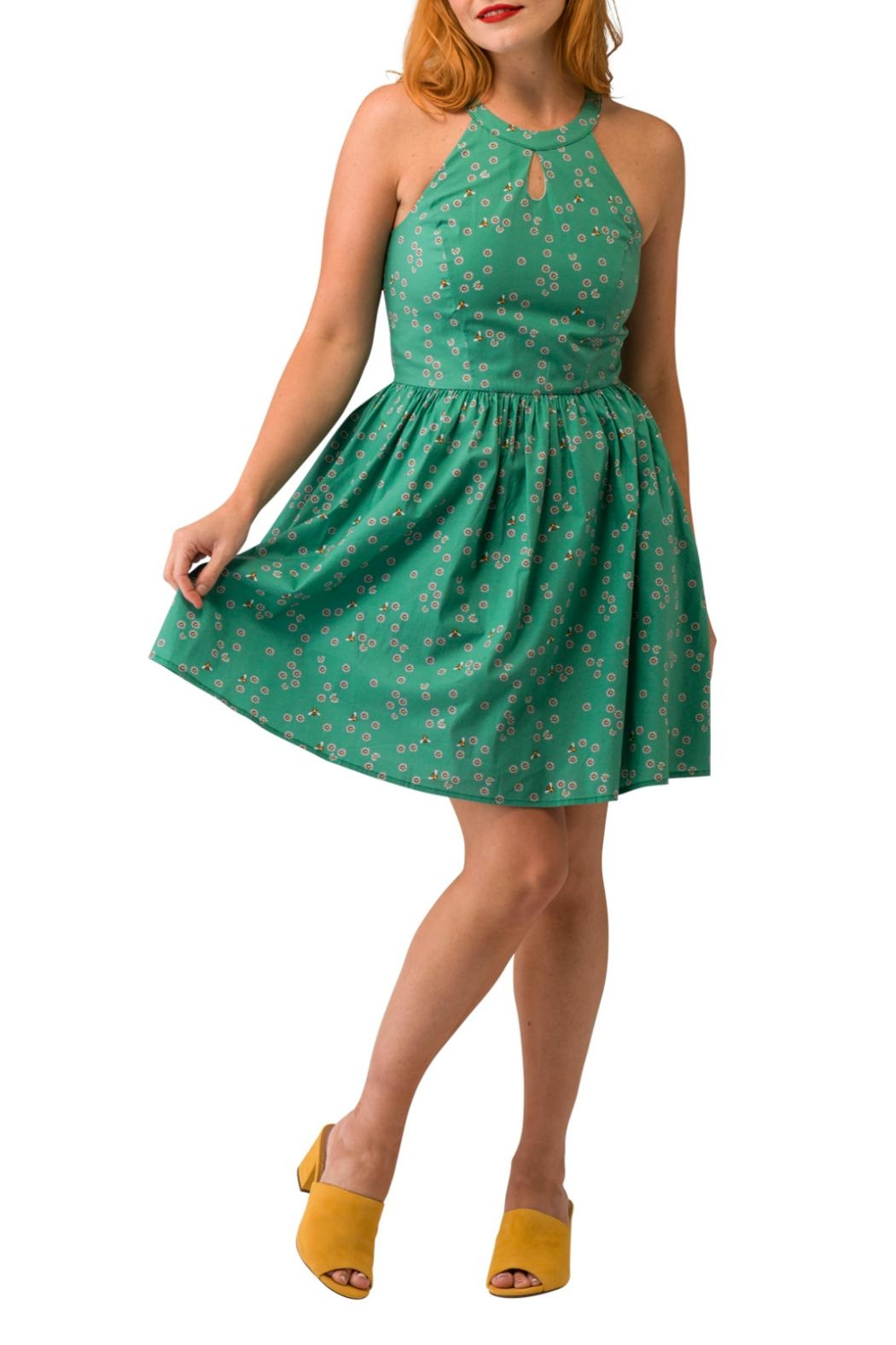 Smak Parlour Bee & Daisy Dress - Side Cropped Image
