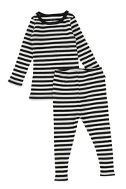 BEE AND DEE Bee & Dee Stripped Rib Collection Loungewear | Pajamas (2pc) - Product Mini Image