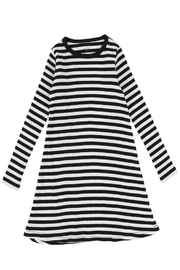 BEE AND DEE Bee & Dee Stripped Ribbed Collection Nightgown   Maxi Dress - Product Mini Image