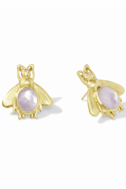 Julie Vos Bee Earrings - Front cropped