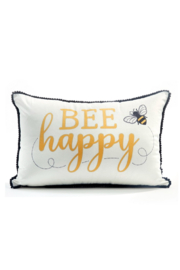 Giftcraft Inc.  Bee Happy Pillow - Product Mini Image