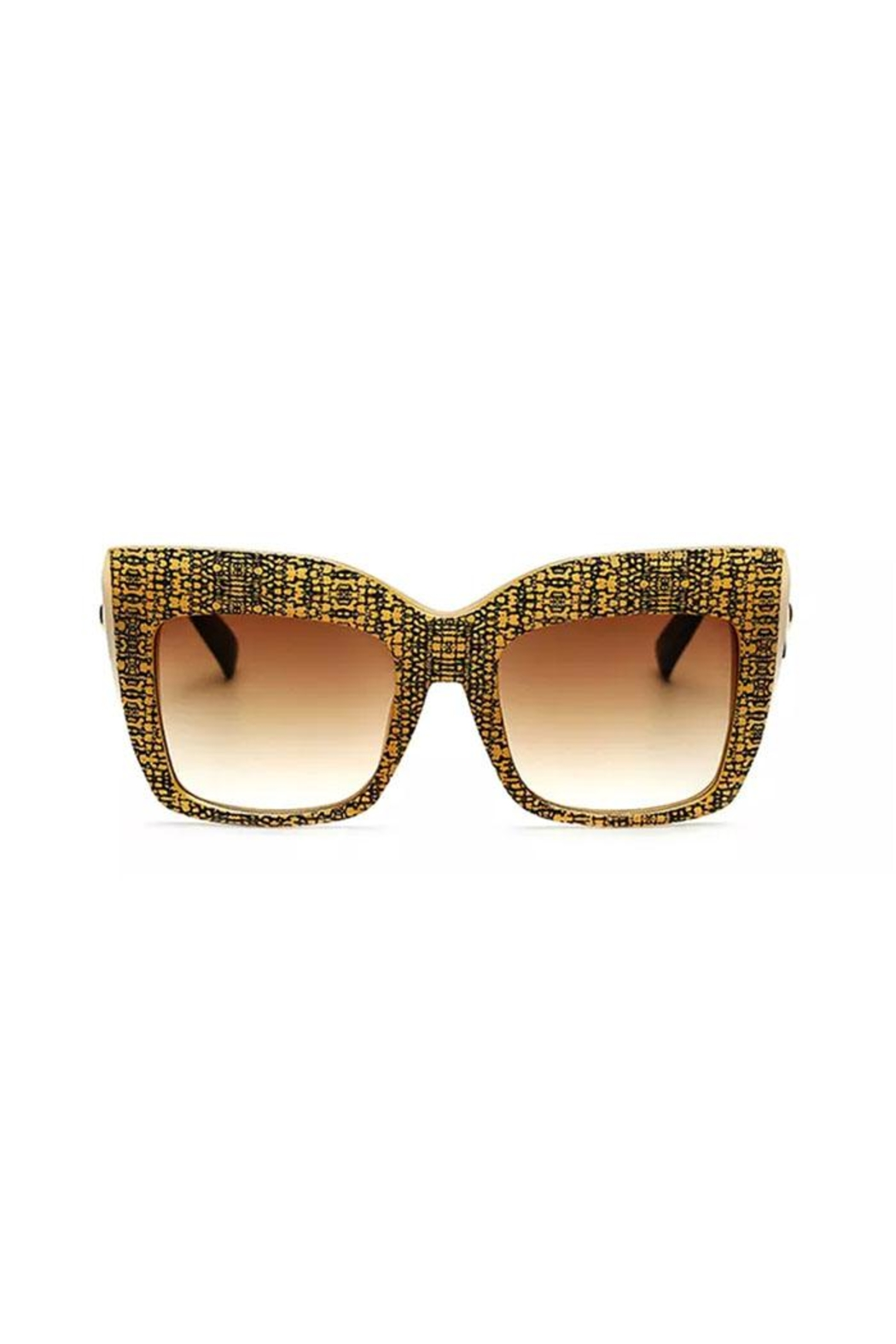 Madison Avenue Accessories Bee Hive Sunnies - Front Cropped Image