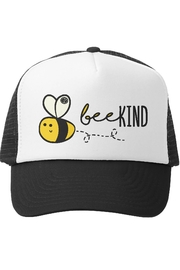 Grom Squad Bee Kind Trucker Hat - Front cropped