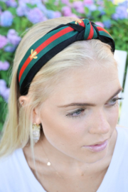 arthur jane claire  Bee Knot Headband - Front cropped