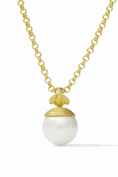 Julie Vos Bee Pearl Pendant - Product List Image
