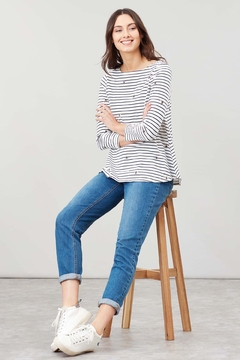 Joules Bee Stripe Swing Top - Product List Image