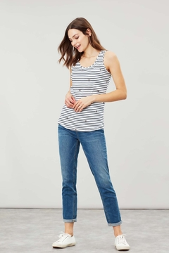 Joules Bee StripeTank Top - Product List Image