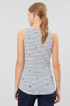 Joules Bee StripeTank Top - Alternate List Image