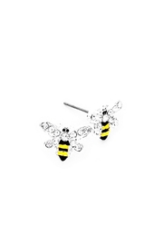 Wild Lilies Jewelry  Bee Stud Earrings - Product Mini Image