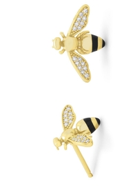 M Concept Shop Bee Stud Earrings - Front cropped