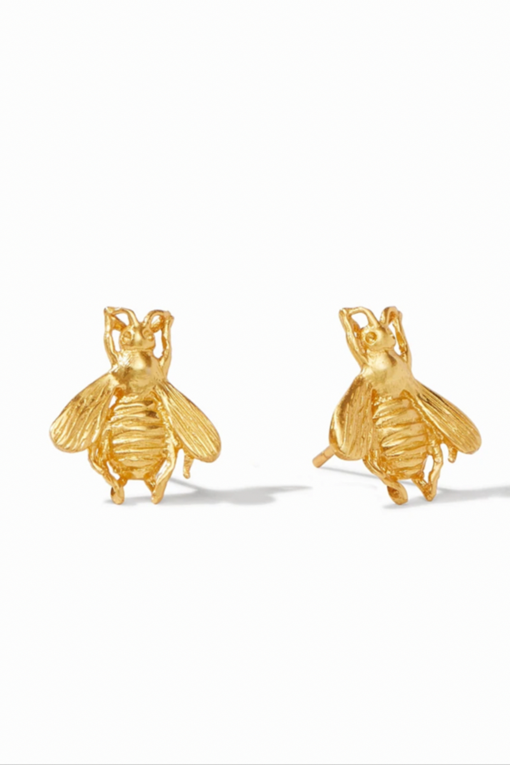 Julie Vos Bee Stud Pierced Earrings - Main Image