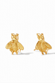 Julie Vos Bee Stud Pierced Earrings - Front cropped