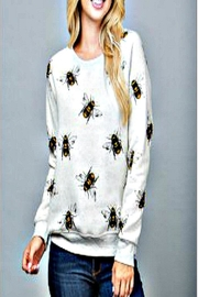 Patricia's Presents Bee Sweatshirt-Plus - Front cropped