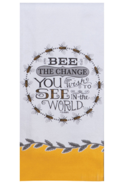 Kay Dee Designs Bee the Change Terry Towel - Product List Image