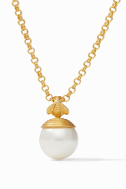 Julie Vos Bee w/ Pearl Pendant - Front cropped