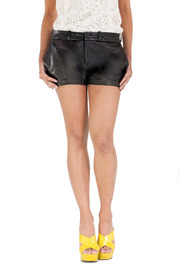 Shoptiques Product: Leather Shorts
