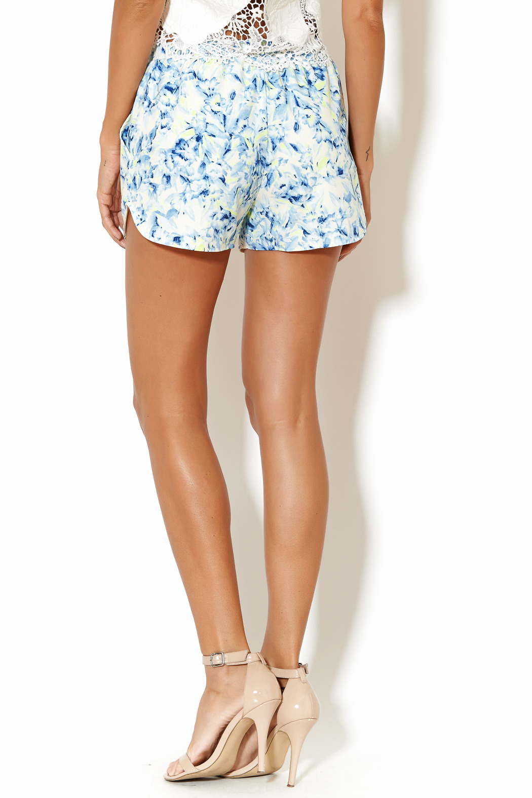 Lovers + Friends Adore Shorts - Back Cropped Image