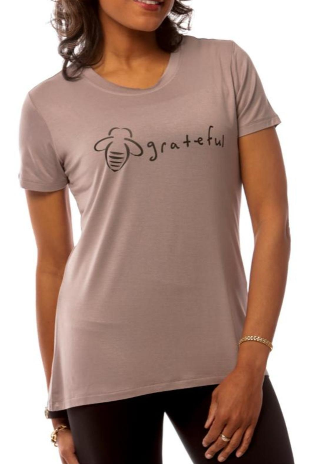 Bee Attitudes Grateful Tee - Front Cropped Image