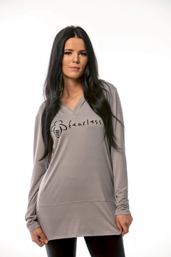 Bee Attitudes Hooded Long Sleeve Tunic - Product List Image