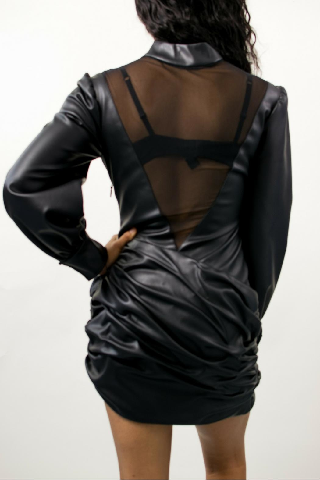 Bee Daring Couture Real Leather - Front Full Image
