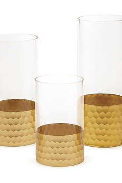 Tozai Home Beehive Glass Vase  Set of 3 - Alternate List Image