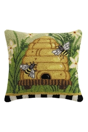 Peking Handicraft Beehive Hook Pillow - Product Mini Image