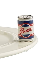 Nora Fleming Beer Can Mini - Product Mini Image