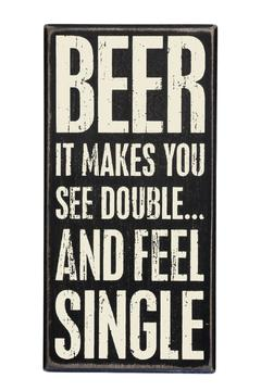 Shoptiques Product: Beer Sign