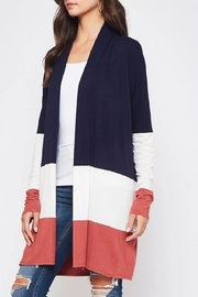 Beeson River Color Block Cardigan - Product Mini Image