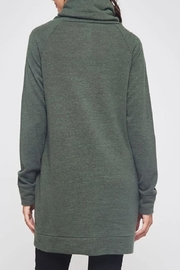 Beeson River Cowl Tunic-Pocket Top - Side cropped