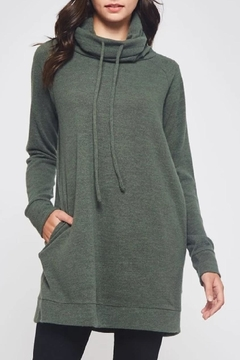 Beeson River Cowl Tunic-Pocket Top - Product List Image