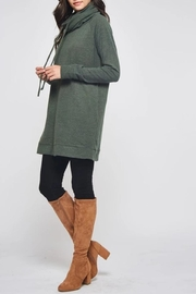 Beeson River Cowl Tunic-Pocket Top - Back cropped