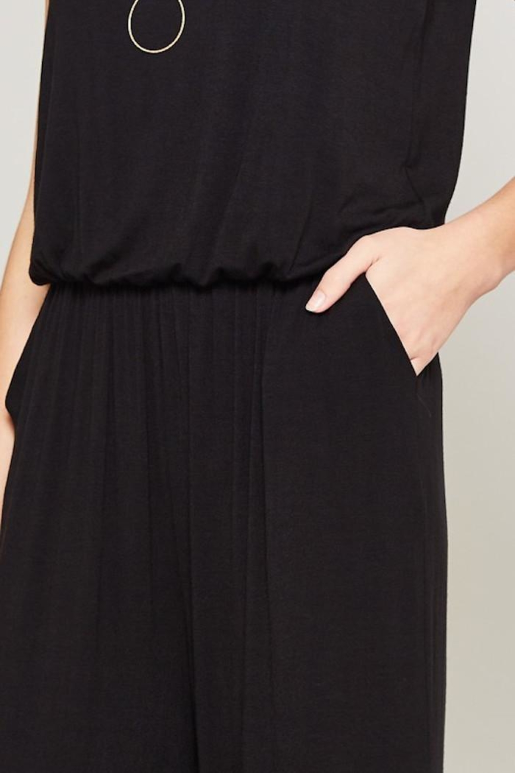 Beeson River Laid Back Jumpsuit - Back Cropped Image