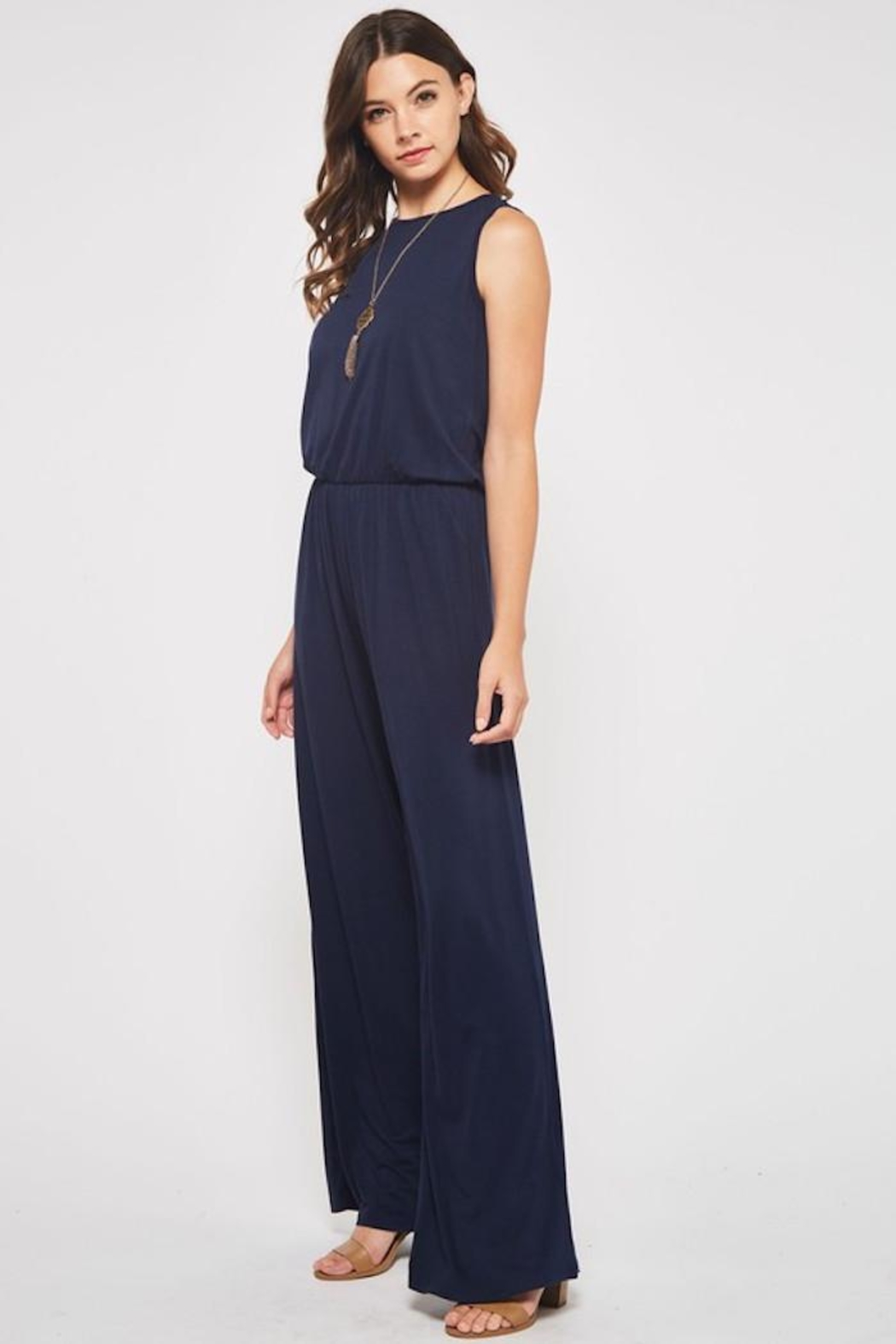Beeson River Laid Back Jumpsuit - Front Full Image