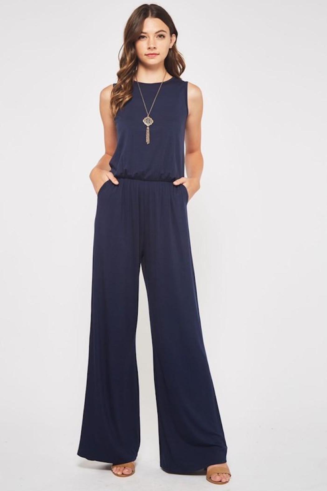 Beeson River Laid Back Jumpsuit - Front Cropped Image