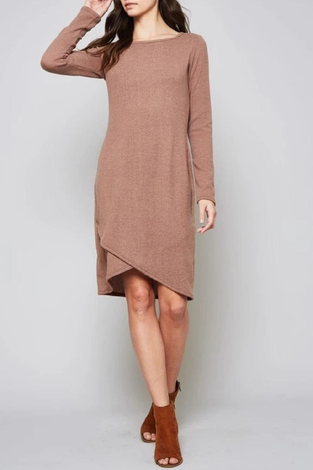 Beeson River Solid Sweater Dress - Main Image