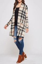 Beeson River Tartan Plaid Cardigan - Product Mini Image
