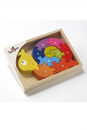 BeginAgain Number Snail Puzzle - Front cropped