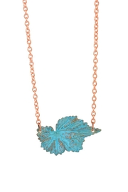 We Dream In Colour Begonia Hand Painted Necklace - Product Mini Image