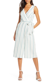 Adelyn Rae Behati Linen Jumpsuit - Product Mini Image