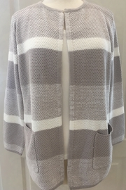 Marble Beige and cream cardigan sweater - Product Mini Image