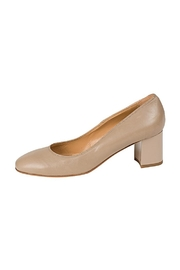 Lady Doc Beige Block-Heel Court - Product Mini Image