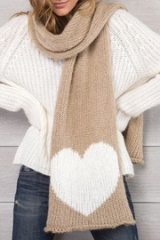 Wooden Ships Beige Heart Scarf - Product Mini Image