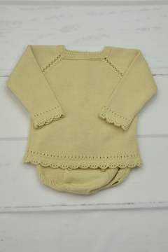 Granlei 1980 Beige Knitted Outfit - Product List Image