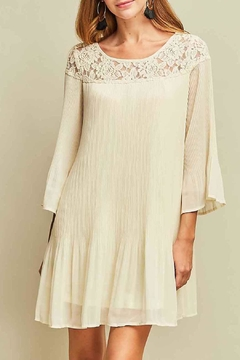 2e1911bc3e4 ... Entro Beige Lace Dress - Product List Image