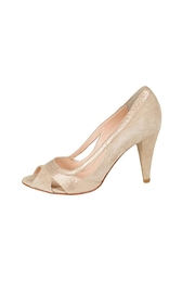 Lady Doc Beige Peep-Toe Heel - Product Mini Image