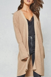 Promesa USA Beige Ribbed Cardigan - Product Mini Image