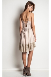 People Outfitter Beige Shift Dress - Product Mini Image