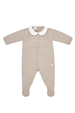 Shoptiques Product: Beige Sleepsuit.