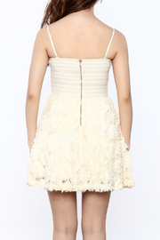 Ark & Co Beige Strapless Dress - Back cropped